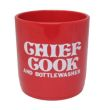 Chief Cook and Bottle Washer - Red
